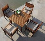 户外实木家具桌椅
