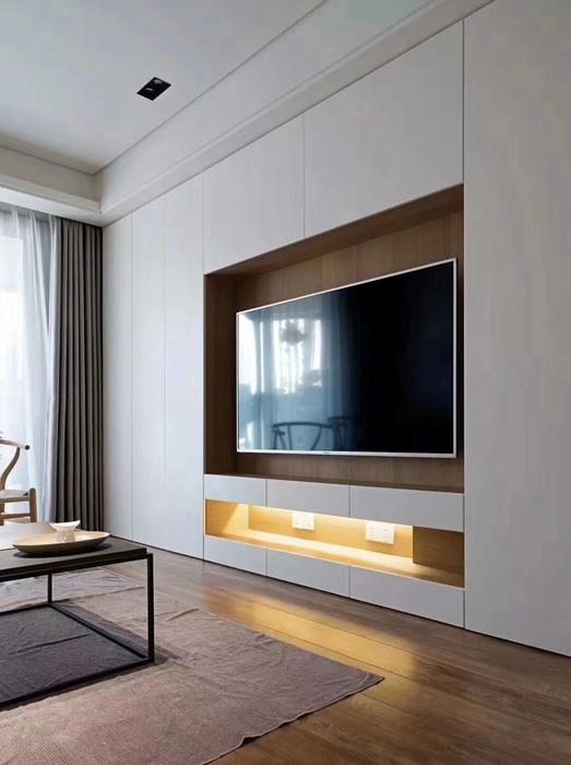 客厅电视背景柜